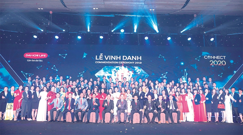 The entire Dai-ichi Life Vietnam family is looking towards more success and recognition in the coming years
